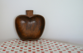 Houten appelbakje