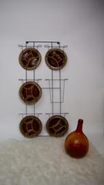 Vintage fonduebord/tapasbord Digoin