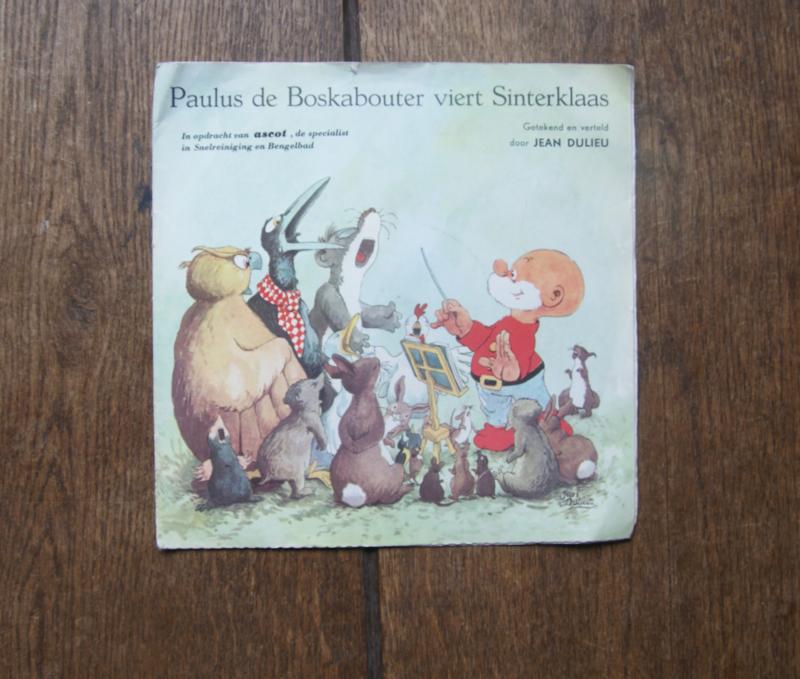 Paulus de Boskabouter viert Sinterklaas boekje met single