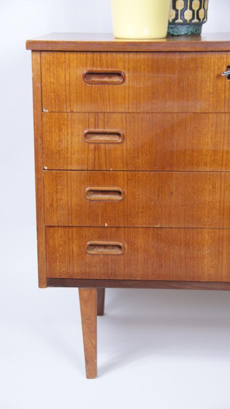 Vintage Ladekast Jaren 60 Kast Scandinavisch Design