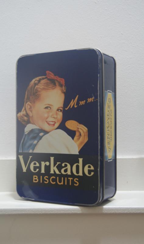 Verkade biscuits blikje