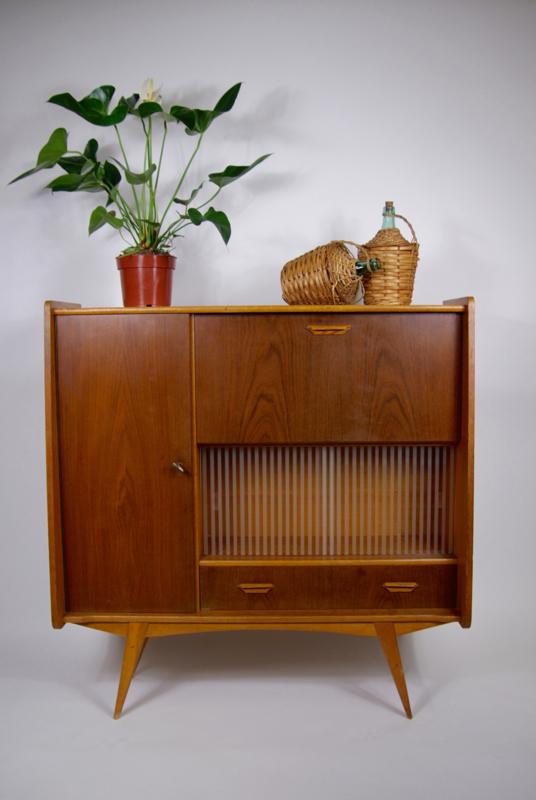 Welp Highboard vintage kast, buffetkast jaren 60 | Verkocht | RetroLoes UI-53