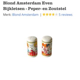 Blond Amsterdam Peper en Zoutstel