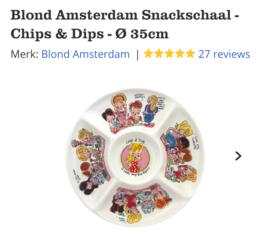 Blond Amsterdam Snackschaal