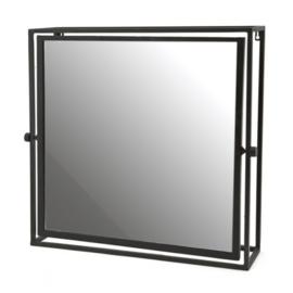 BY-BOO - Spiegel Frame Vierkant Metaal