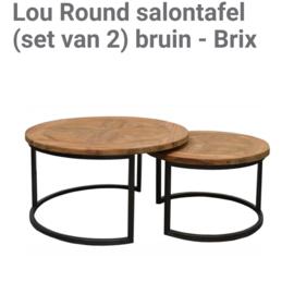 Brix Lou Round   set van 2