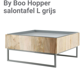 By Boo Hopper salontafel L grijs