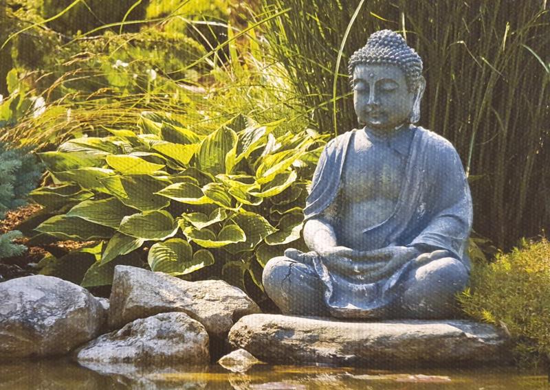 Tuinposter xxl  boudha