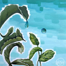 #DAILYPAINTING 013 🌱💧