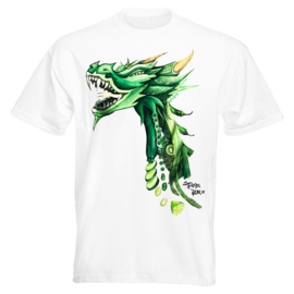 T-SHIRT VEGAN DRAGON