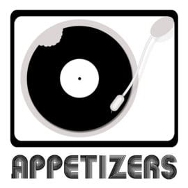 LOGO DESIGN APPETIZERS FOR A RADIO SHOW BY MARVIN