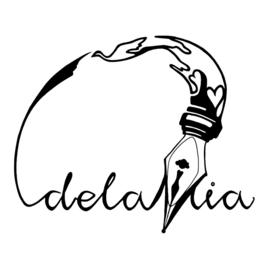 LOGO DESIGN DELAMIA FOR WRITER / COMMUNICATION ADVISER MIA SPRUIT