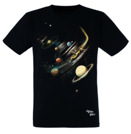 T-SHIRT SCRATCHIN' THE SOLAR SYSTEM