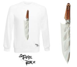 AMSTERDAM KNIFE WHITE SWEATER