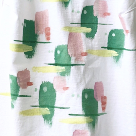 HAND PAINTED SHIRT > '80s PATTERN / VINTAGE / ABSTRACT