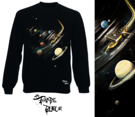 SCRATCHIN' THE SOLAR SYSTEM SWEATER