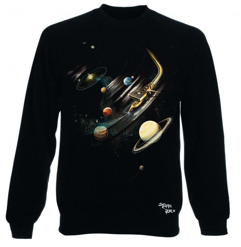 SWEATER SCRATCHIN' THE SOLAR SYSTEM