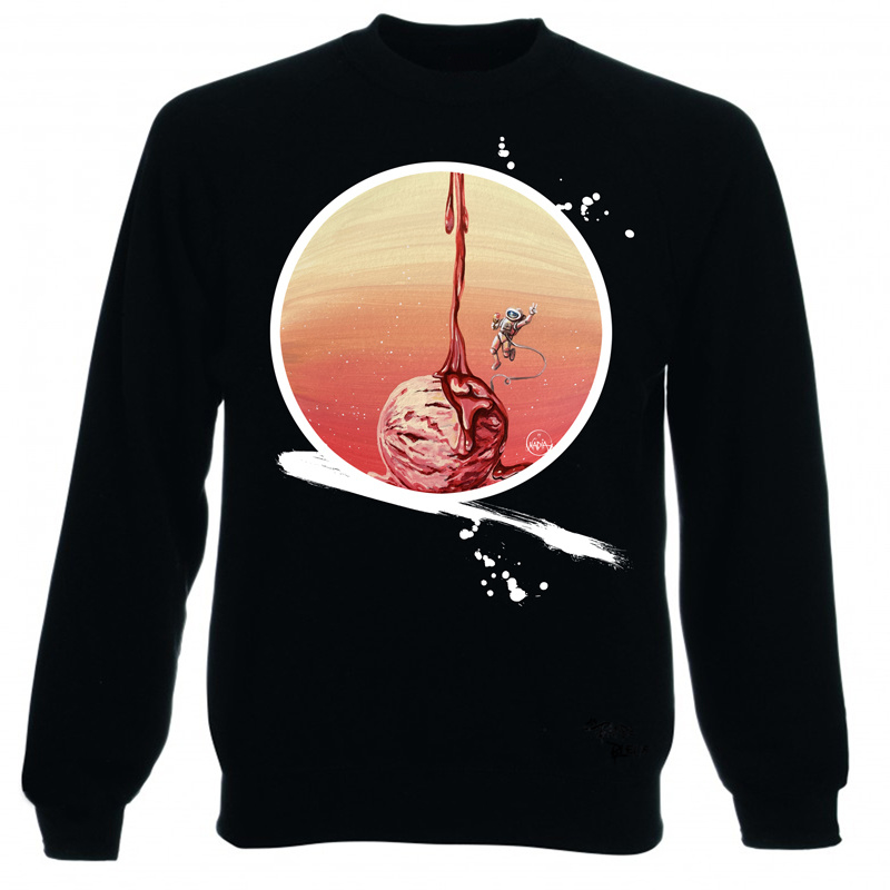 SWEATER DICOVERY OF ASTRO ICE