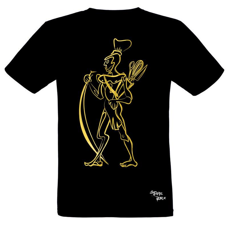 T-SHIRT SURI WARRIOR GOLD