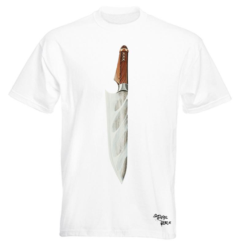 AMSTERDAM KNIFE WHITE TSHIRT