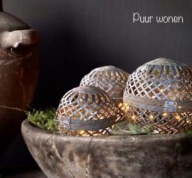 Decoratieve metalen sfeerballen