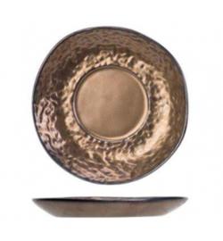 Servies Puur Copper - Klein Bordje Voor Onder Een Kopje