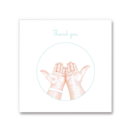 Ho'oponopono greeting card - Thank you