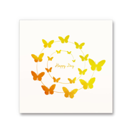 Happy thoughts greeting cards - Happy Day