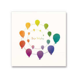 Happy thoughts greeting cards - Best Wishes