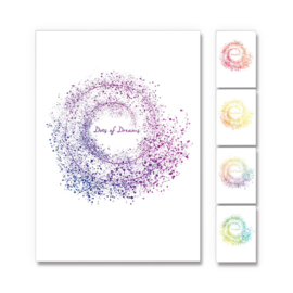 Lots of Dots cards - Set of 4 cards