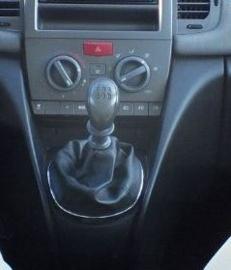 Lancia Ypsilon I - Echt leder pookhoes