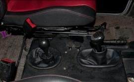 Mercedes G-kl W460, W461, W462, W463 - Echt leder pookhoes
