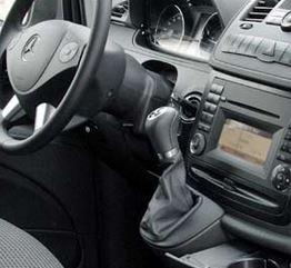 Mercedes Vito II W639 automaat - Echt leder pookhoes