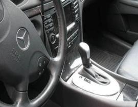 Mercedes E-kl automat W210 E211 - Echt leder pookhoes
