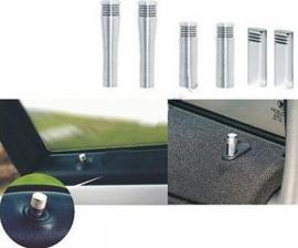 Hoogglans aluminium deurstiften, Ford