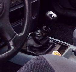 Ford Sierra - Echt leder pookhoes