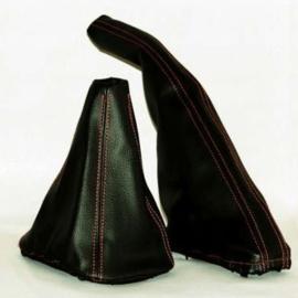 Skoda Octavia 1 - Echt leder handremhoes
