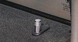 Hoogglans aluminium deurstiften, Opel (ronde)
