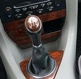 Rover 75 - Echt leder pookhoes