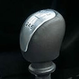 Renault Laguna 3 - Echt leder pookknophoes (long)