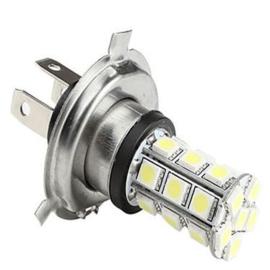 Wit licht LED Gloeilamp - H4 12V 18 SMD
