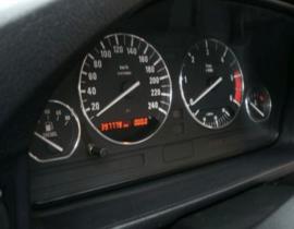 BMW E34 - Verchroomde aluminium Tellerringen