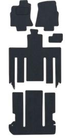 CLASSIC Velours automatten met logo Kia Carnival 1999-2002