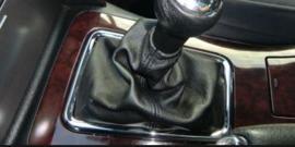 Peugeot 407SW 2004-2011- Echt leder pookhoes