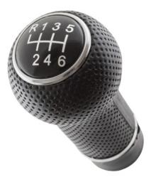 Pookknop Versnellingspook Volkswagen Golf 4  6 ver. 12mm