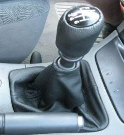 Renault Laguna 2 - Echt leder pookhoes