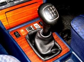 Mercedes W201 190 - Echt leder pookhoes
