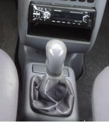 Mercedes A -kl W168 - Echt leder pookhoes