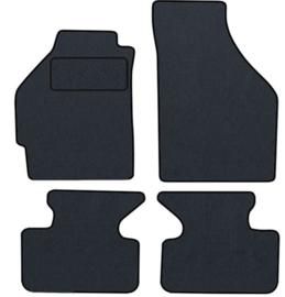 CLASSIC Velours automatten met logo Fiat Punto II 5 deuren 2003-2011