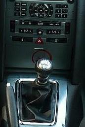 Peugeot 407 - Echt leder pookhoes